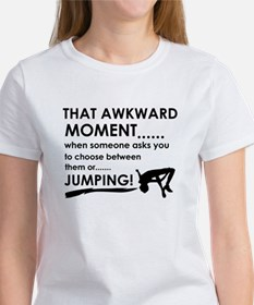 Jumping sports designs Tee