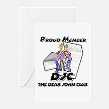 The Dear John Club Greeting Cards (Pk of 10)