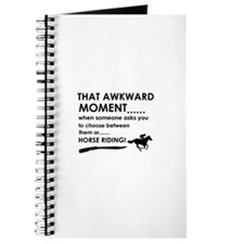 Horse Riding sports designs Journal