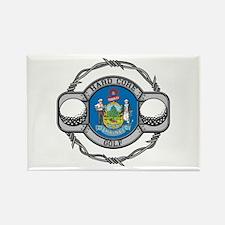 Maine Golf Rectangle Magnet