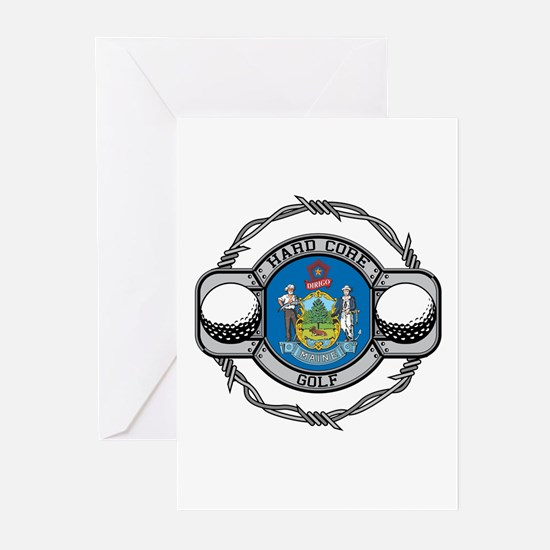 Maine Golf Greeting Cards (Pk of 10)