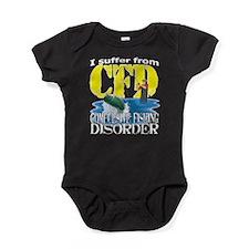 CFD - Compulsive Fishing Disorder Baby Bodysuit