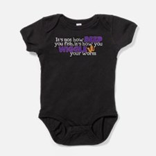 Wiggle your worm Baby Bodysuit