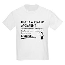 Netball sports designs T-Shirt