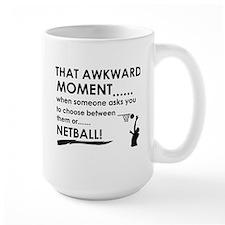 Netball sports designs Mug