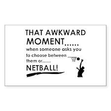 Netball sports designs Bumper Stickers