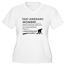Lawn Bowling sports designs T-Shirt