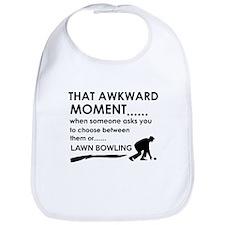Lawn Bowling sports designs Bib