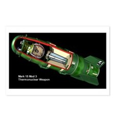 Cute Nuclear weapons Postcards (Package of 8)