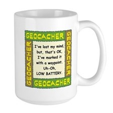 Green Geocacher Lost Mind Mug