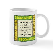 Green Geocacher Lost Mind Mug