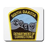 South Dakota Prison Mousepad