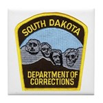 South Dakota Prison Tile Coaster
