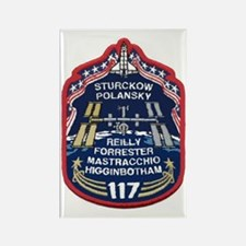 STS 117 Original Crew Rectangle Magnet