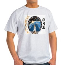 STS 117 Atlantis Ash Grey T-Shirt