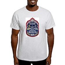 STS 117 Original Crew Ash Grey T-Shirt