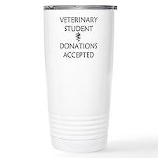 Vet Student Donations Accepted Travel Mug