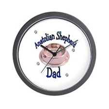 Anatolian Shepherd Dad Wall Clock