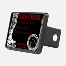 LEATHER Is - BDSM Design Hitch Cover