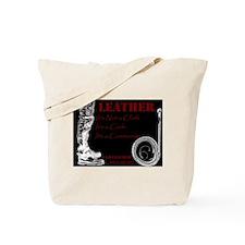 LEATHER Is - BDSM Design Tote Bag