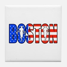 Boston patriot Tile Coaster