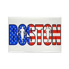 Boston patriot Rectangle Magnet