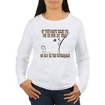 Sepia Toned Women's Long Sleeve T-Shirt