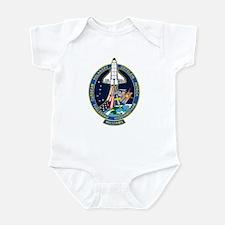 STS 116 Launch Crew Infant Bodysuit