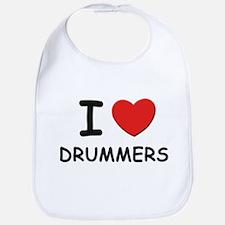 I love drummers Bib