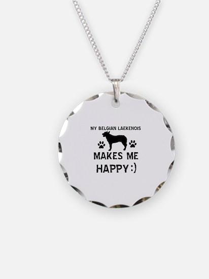 My Belgian Laekenois makes me happy Necklace Circl
