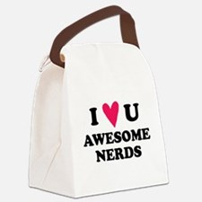 Pitch Perfect Awesome Nerds Canvas Lunch Bag