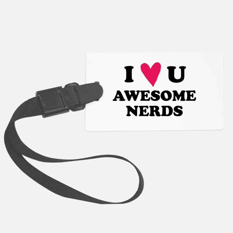 Pitch Perfect Awesome Nerds Luggage Tag