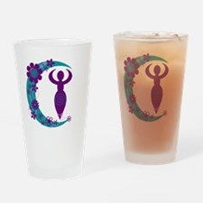 Moon Goddess Drinking Glass