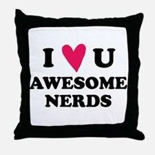 Pitch Perfect Awesome Nerds Throw Pillow