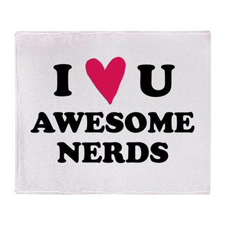 Pitch Perfect Awesome Nerds Throw Blanket