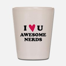 Pitch Perfect Awesome Nerds Shot Glass