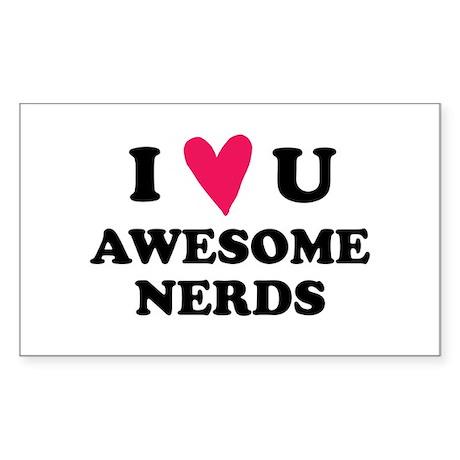 Pitch Perfect Awesome Nerds Sticker