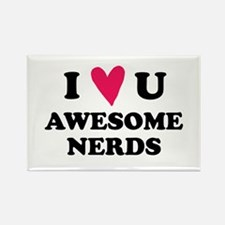 Pitch Perfect Awesome Nerds Rectangle Magnet