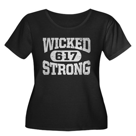 Wicked Strong 617 Plus Size T-Shirt