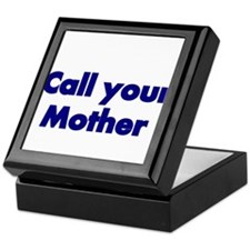 Call your Mother Keepsake Box
