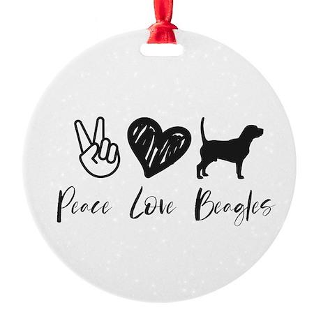 Peace Love Bacon Jr. Football T-Shirt