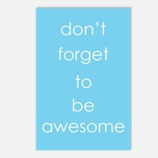 You Are Awesome Postcards (Package of 8)