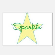 Sparkle Star Postcards (Package of 8)