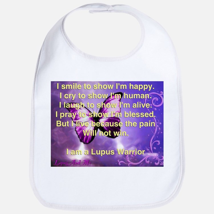 Lupus Warrior Bib