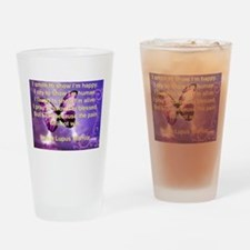 Lupus Warrior Drinking Glass