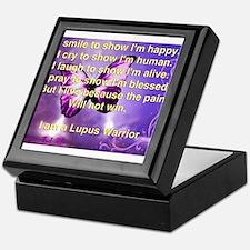 Lupus Warrior Keepsake Box
