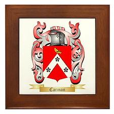Carman Framed Tile