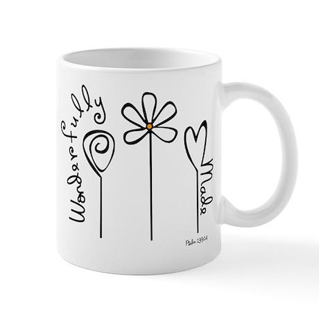 Wonderfully Made (Right) Mug