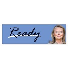 READY Bumper Bumper Sticker