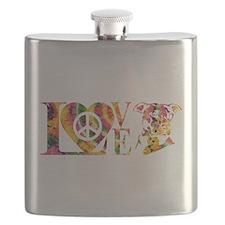 PITBULL LOVE Flask